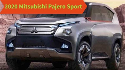 2020 mitsubishi pajero sport facelift 2020 mitsubishi pajero sport facelift rating review and