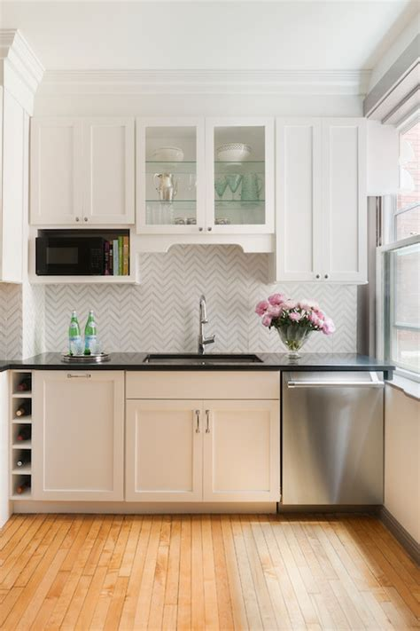 kitchen cabinets over sink over the counter microwave design ideas