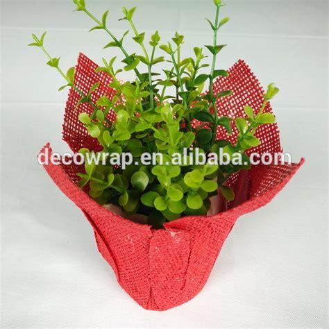 How To Make Paper Flower Pot - flower pot paper flower pot covers buy paper flower pot
