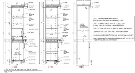 millwork section pin shop drawings on pinterest