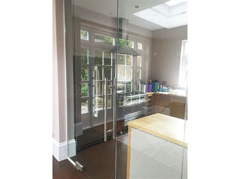 glass partition door glass partitioning at domestic property mapesbury