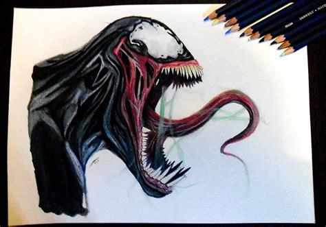 Drawing Venom by Venom Drawing By Jairmb On Deviantart