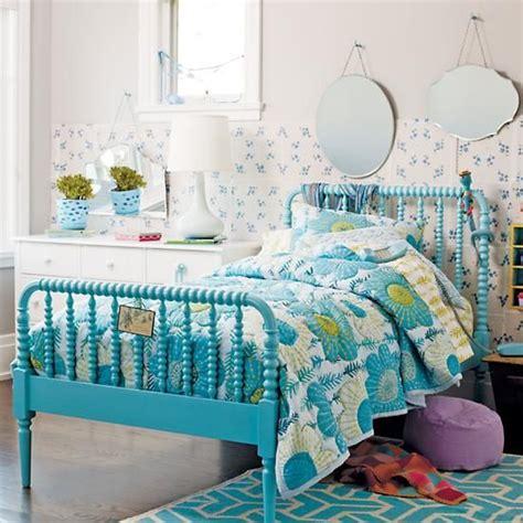 land of nod bed jenny lind bed azure