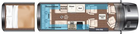 Rv Floor Plans Class A by Mercedes Sprinter Rv Camper Vans Midwest Automotive