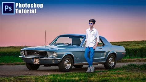 Car Photoshop Effects by Car Soft Nature Effects Photoshop Background