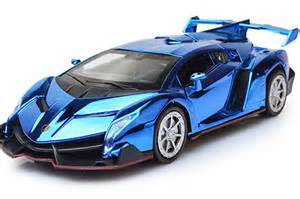 Lamborghini Veneno Blue 1 32 Blue Purple Golden Diecast Lamborghini