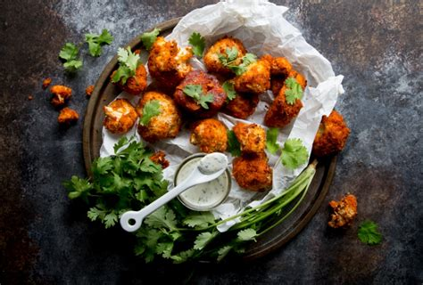hotforfood buffalo cauliflower hot buffalo style cauliflower bites