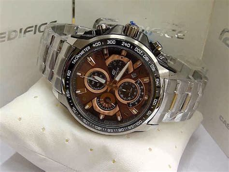 Edifice Ef 560 Silver Black casio edifice ori bm