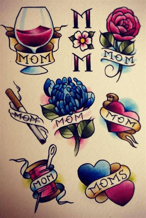 traditional mom tattoo best 25 traditional sleeve ideas on