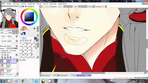 how to color skin coloring skin on paint tool sai