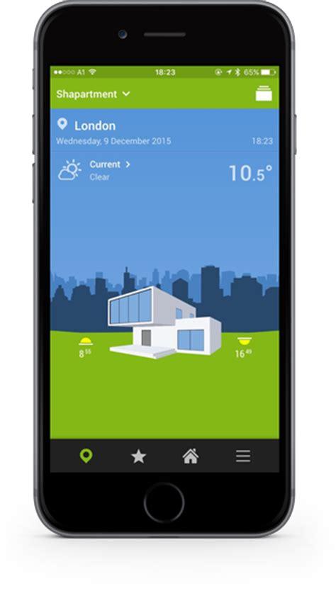 the loxone smart home app app home loxone