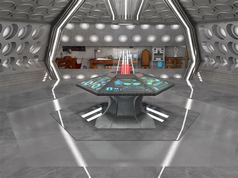 Tardis Console Room by Doctor Who Tardis Interior Redesign Console Room