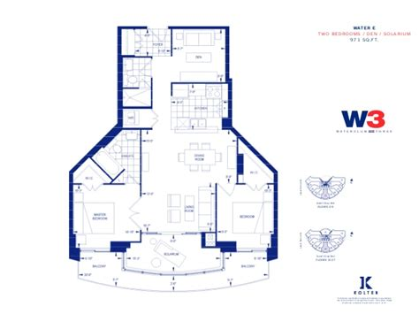 8 york street floor plans waterclub condominium