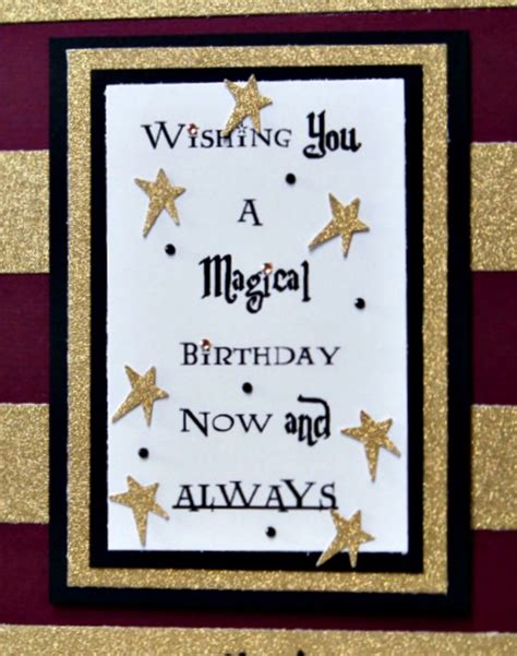 Harry Potter Themed Birthday Cards The Answer Is Chocolate Harry Potter Birthday Card