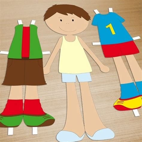 Paper Doll Crafts - printable doll pdf paper craft