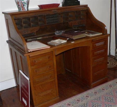 vintage oak roll top desk shore house contents