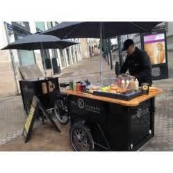 triporteur nihola de vente ambulante food cart