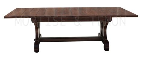 Handmade Trestle Dining Table - axis trestle dining table handmade in our los angeles