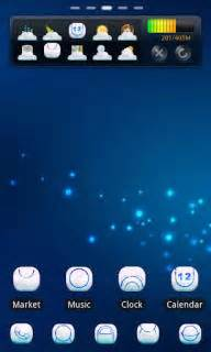 themes for android wap download blue dots coud for android theme htc theme