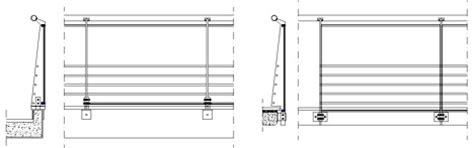 ringhiera dwg railings railings balustrades dwg 3