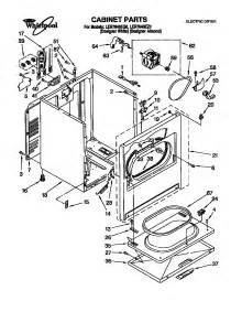 whirlpool dryer parts model ler7646eq0 sears partsdirect