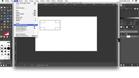 tutorial gimp 2 8 español how to draw shapes in gimp 2 8 gimp video tutorials