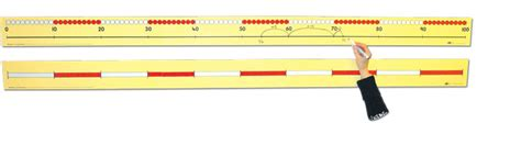 printable bead number line 0 100 number line pupil 43cm cambridge house sen
