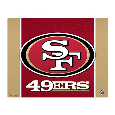 san francisco 49ers home decor san francisco 49ers logo 17 home decor pinterest san
