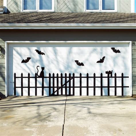 Garage Door Decorations by Show Me Crafting Outdoor Decor Ideas Via