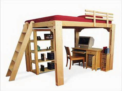 Build Loft Bed Frame Bedroom How To Build A Loft Bed Bunk Bed Bunk Bed King Bunk Beds Loft Bed