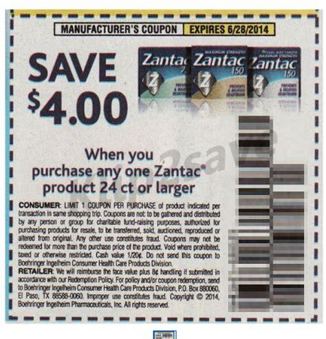 Zantac Printable Coupon