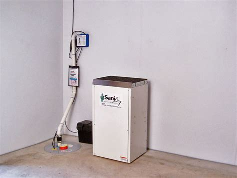 basement dehumidifier system sanidry basement dehumidifier other metro by basement