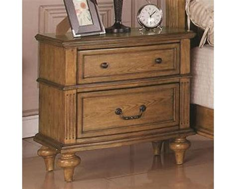 Light Oak Nightstand Coaster Emily Nightstand In Light Oak Co 202572