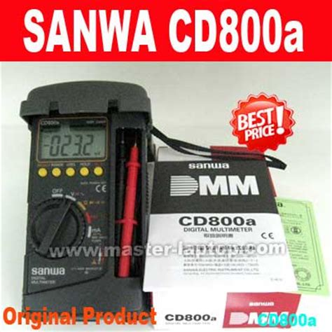 Jual Multitester Digital Sanwa sanwa cd800a multitester digital avometer digital
