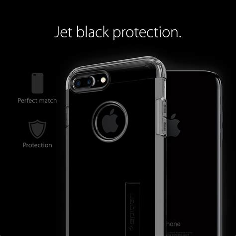 Spigen Tough Armor Apple Iphone 7 Plus Jet Blackblack spigen tough armor skal till apple iphone 7 plus jet