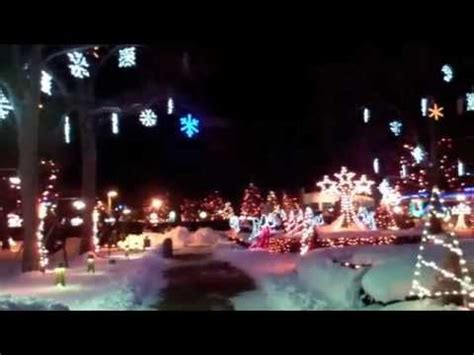 christmas lights at lasalette shrine attleboro ma youtube