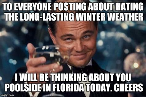 Winter Meme Generator - leonardo dicaprio cheers meme imgflip