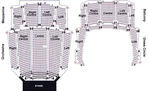 Verizon Center Floor Plan orpheum vancouver floor plan floor matttroy