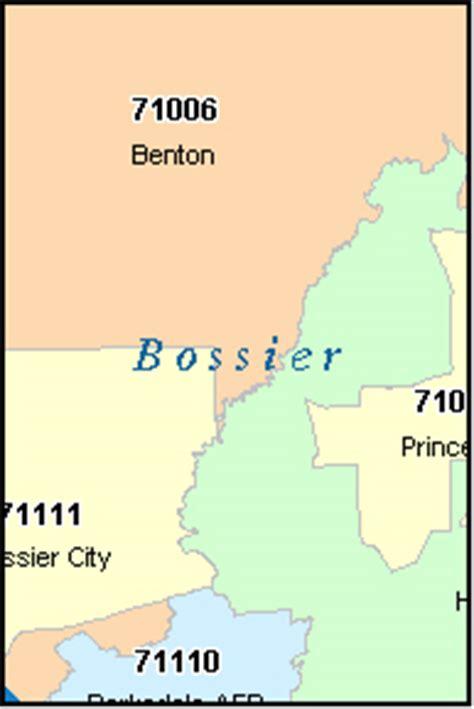 zip code for city la bossier city louisiana la zip code map downloads
