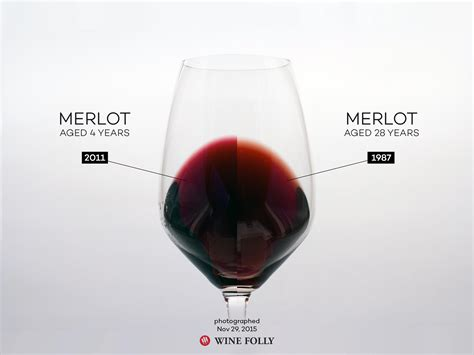 what color is wine how wines age wine folly