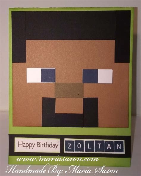 How To Use A Minecraft Gift Card - minecraft birthday card welcome to my website