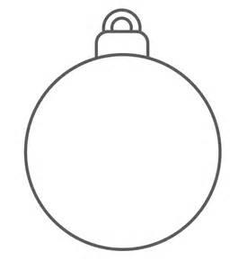 Sjabloon kerstbal kerst knutsel peuter color kerst knutselen peuter