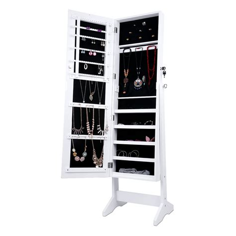 Free Standing Jewellery Armoire Uk by Uk Floor Standing Jewelry Jewellery Storage Box Cabinet