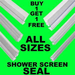 Shower Door Rubber Seal Replacement Bogof Bath Shower Screen Gap Seal Rubber Plastic Silicone Glass Door Curved Flat