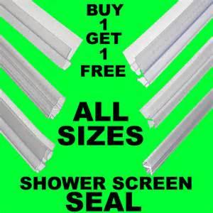 Bath Shower Screen Seals bogof bath shower screen gap seal rubber plastic silicone
