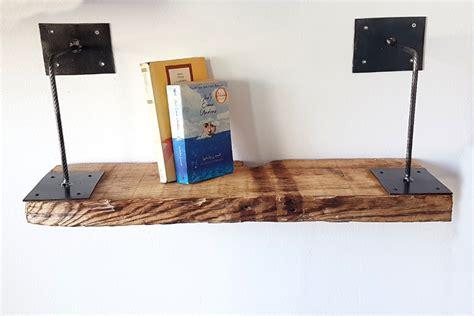 mensole ferro mensola in legno di recupero e ferro xt men002 mobili