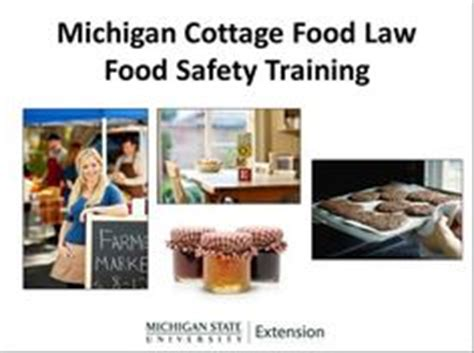 michigan cottage food a sle cottage food label from the state of michigan