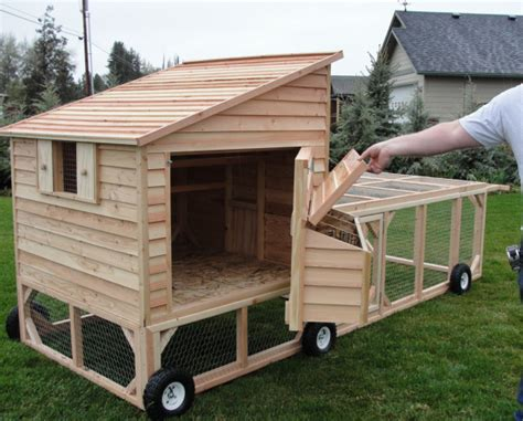 mobile chicken coop portable chicken coop on wheels for let us how does your garden grow