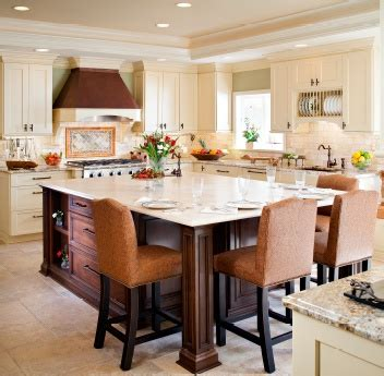 Kitchen Island Instead Of Table My Next Kitchen Is Going To Have An Island Like This
