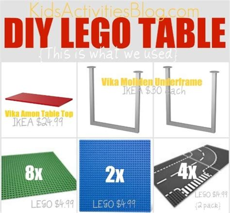 lego table for big lego table for the big lego big and diy lego table